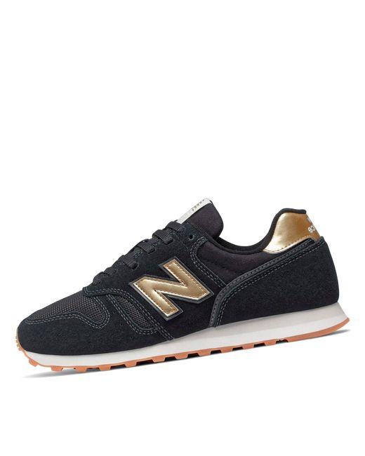 New Balance Blue 373 WL373FD2 Medium Sneaker