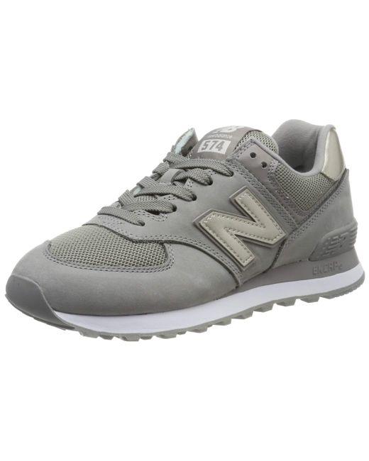 New Balance Gray Damen 574v2 Sneaker