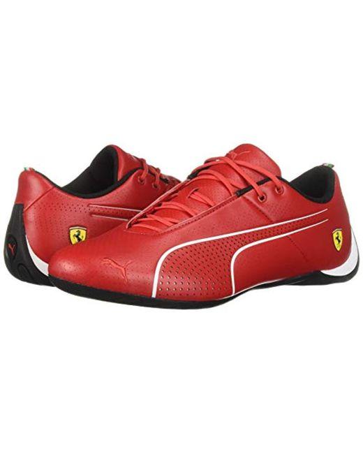 688ef754f7c9b Men's Red Ferrari Future Cat Sneaker