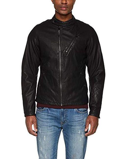G-Star RAW Empral 3D Gpl Biker JKT Jacke in Black für Herren
