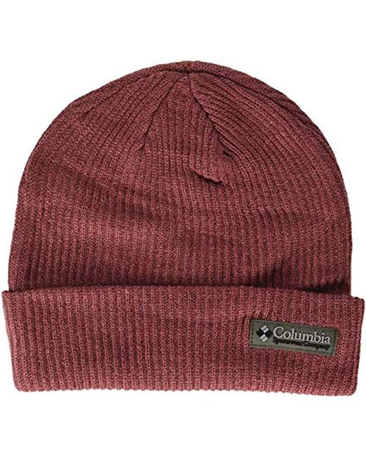 1652a7e5b899e Lyst - Columbia Lost Lager Beanie in Red for Men - Save 50%