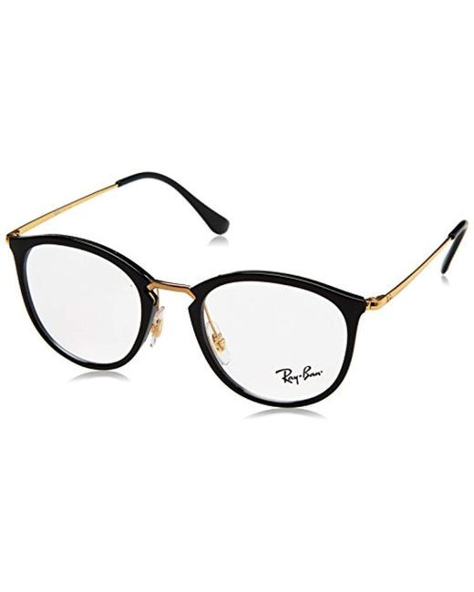 Ray-Ban - Black 0RX7140, Monturas de Gafas Unisex Adulto for Men - Lyst