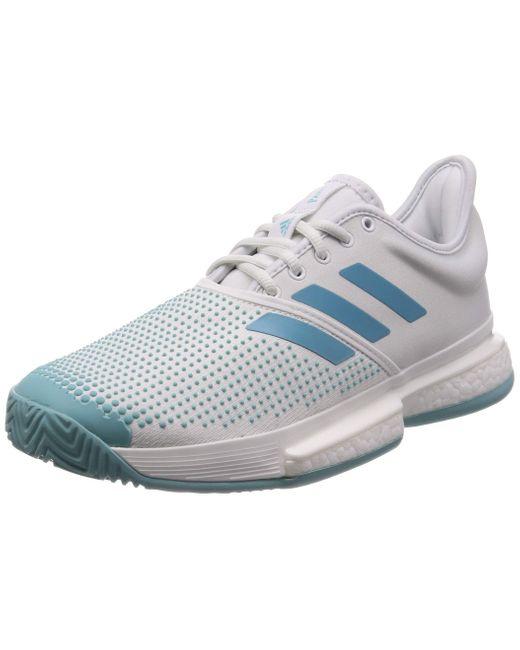 Solecourt Boost M X Parley Adidas pour homme en coloris Blue