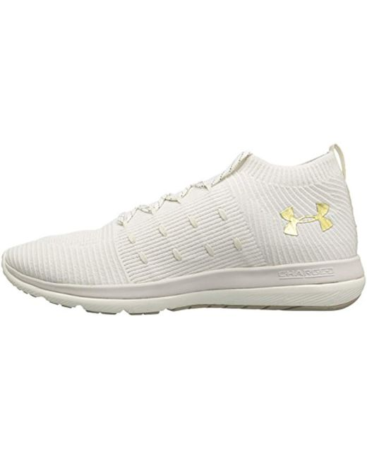 on sale ca74a eb5d8 Under Armour Rubber Ua Slingflex Mid Training Shoes in Beige ...