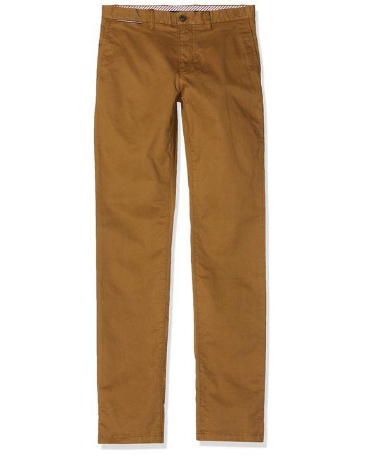 DENTON CHINO ORG STR Pantalon Tommy Hilfiger pour homme en coloris Brown