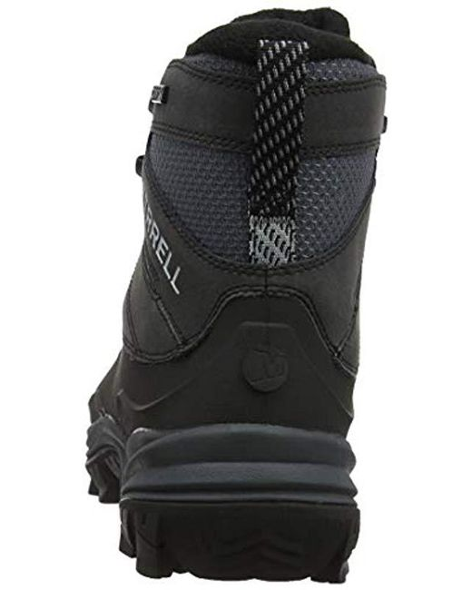 2b81ce422ac Men's Black Thermo Chill Mid Shell Waterproof Snow Boots