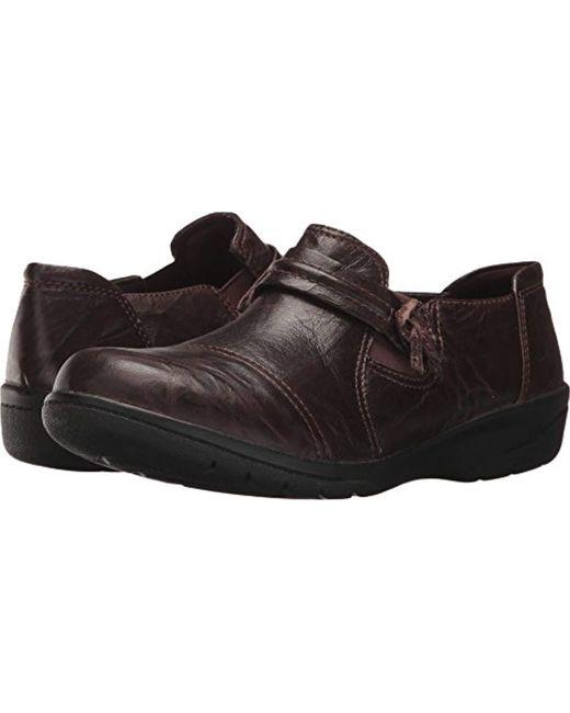 Clarks Brown Cheyn Madi Slip-on Loafer
