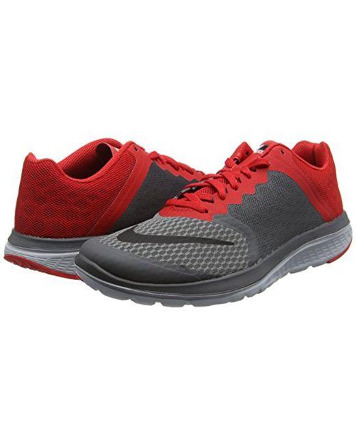 ... Nike - Red Fs Lite 2 Running-shoes for Men - Lyst ...
