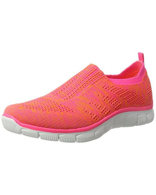 Skechers - Pink Sport Empire Inside Look Fashion Sneaker - Lyst