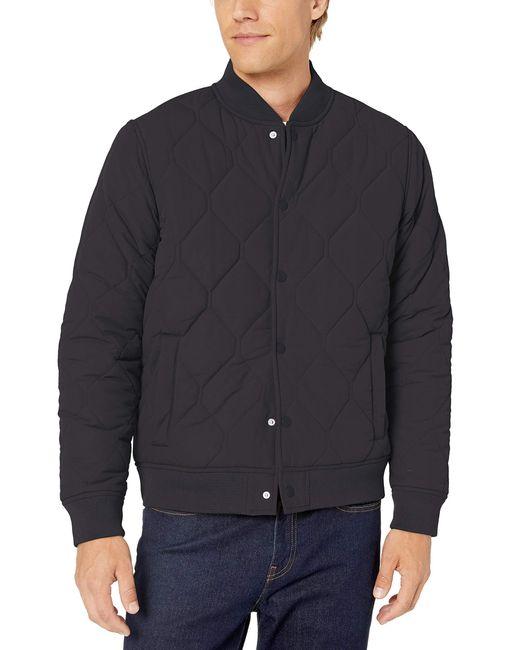 Liner Jacket Quilted-Lightweight-Jackets Goodthreads de hombre de color Black