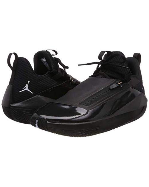 fe040ef8c918e Nike Jordan Jumpman Hustle Basketball Shoes in Black for Men - Save ...