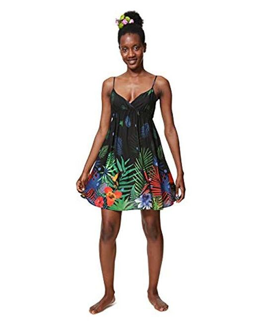 Desigual Black Vest_sia Dress