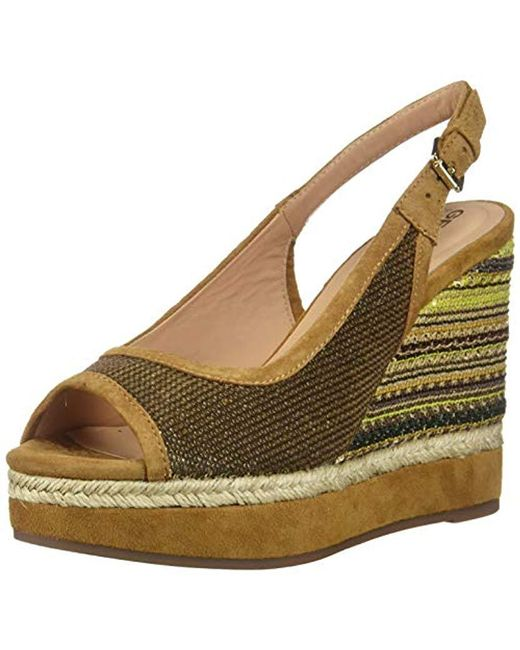 pretty nice 7cb42 3ee4f Women's Metallic D92cff.0at21 C2x2d Gold/curry Scarpe Donna