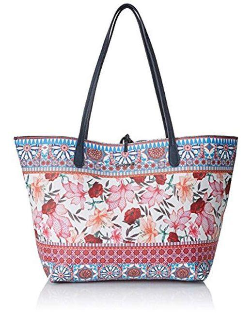 Blue Bols_aria Capri Shopper Bags Women Turquoise (turquesa Technic)  Shopping Bags/baskets