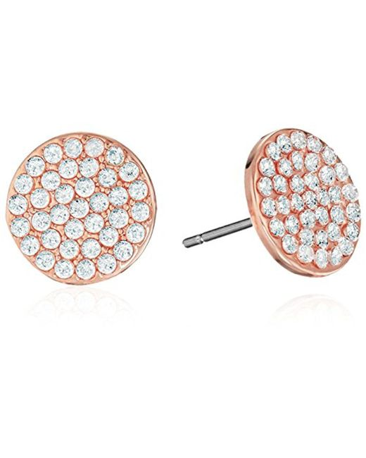 """Kate Spade - Multicolor """"pave Studs"""" Shine On Earrings - Lyst"""