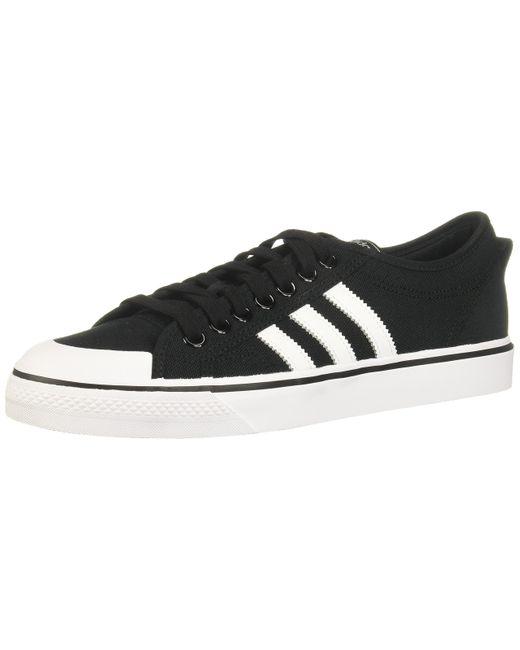 Chaussure Nizza Adidas Originals pour homme en coloris Black