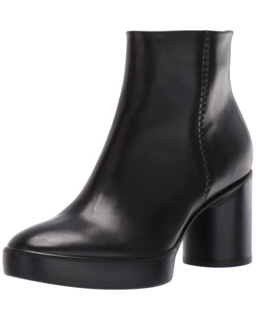 Ecco Black Shape Sculpted Motion 55 Ankle Stiefelette