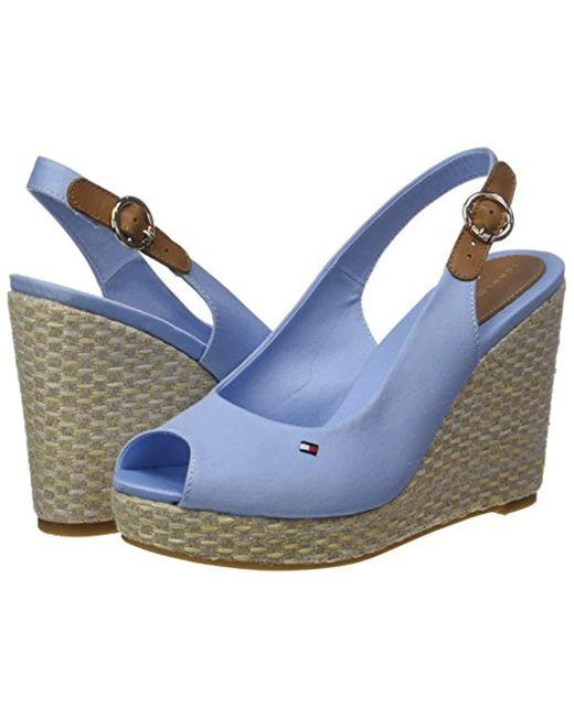 d9059fd9211 Women's Blue Iconic Elena Basic Sling Back Espadrilles
