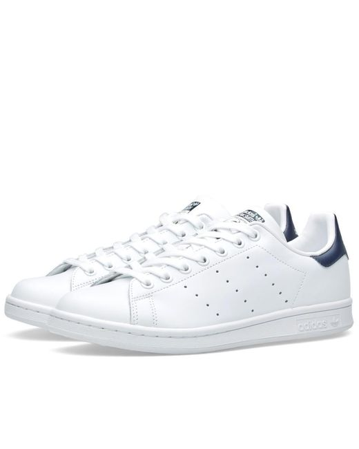 Stan Smith White Green s Trainers Size 8 UK Adidas pour homme