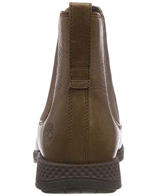 91d4da954c ... Timberland - Brown City S Edge Chelsea Boots for Men - Lyst ...