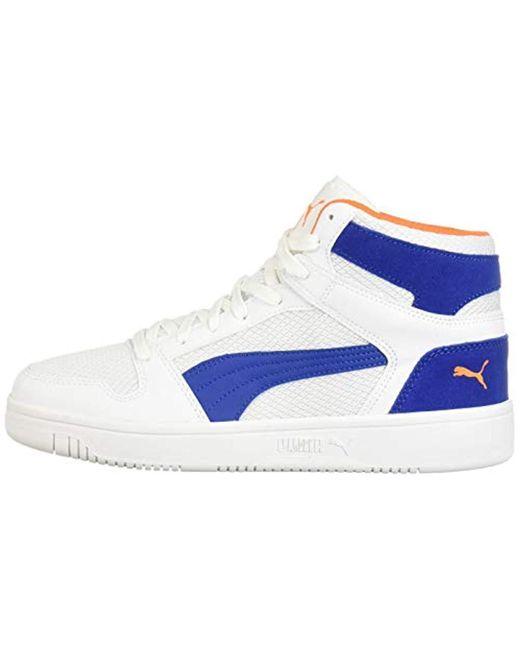Details zu Puma Rebound LayUp Mid SL Schuhe Sneaker Mid Cut
