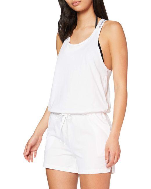 Calvin Klein White Romper Pyjama Sets