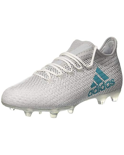 sale retailer cc69a 05b17 Men's White X 17.2 Fg Footbal Shoes
