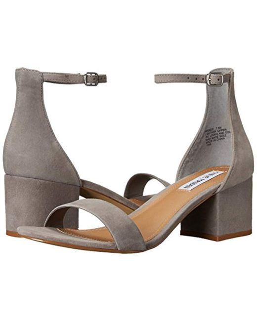 ca1c5e2d545 Steve Madden Leather S Irenee Irenee in Gray - Save 27% - Lyst