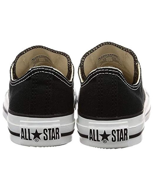 converse chuck taylor all star ox zapatillas de lona unisex