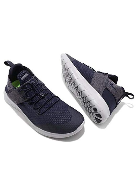 Nike Rubber Free Rn Cmtr 2017 Running Shoes in Blue for Men