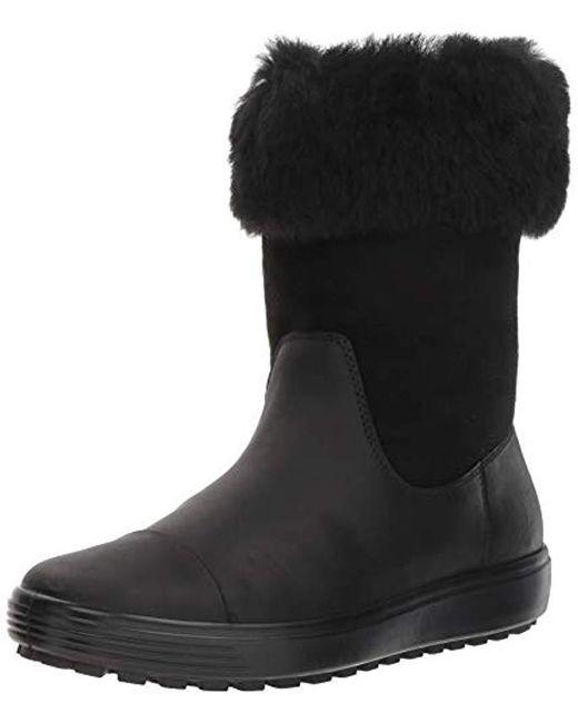 2018 Schuhe autorisierte Website auf Lager Ecco Soft 7 Tred Fashion Boot in Black - Lyst