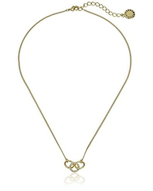 "BCBGeneration - Metallic Modern Bolo Necklace, 24"" - Lyst"