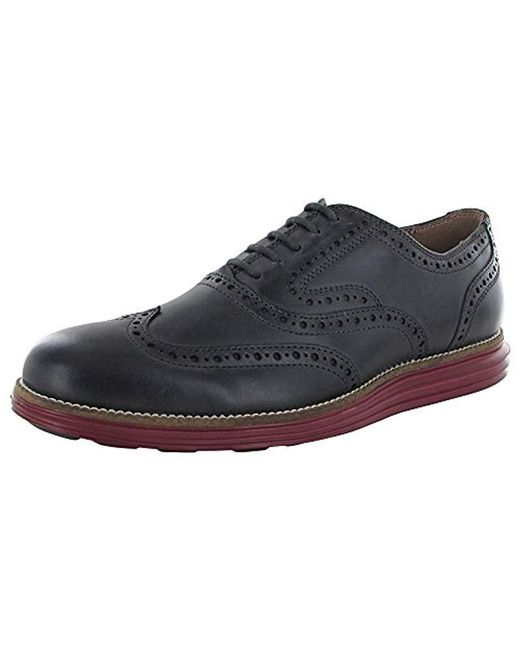 Cole Haan Gray O. Original Grand Short Wing Ox Ii Oxford for men