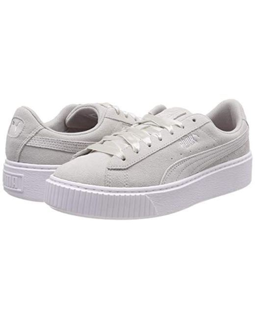 PUMA Platform Galaxy Wn's Low top Sneakers in Gray Save 20