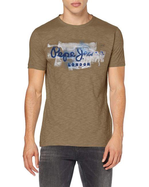 Pepe Jeans T-Shirt in Green für Herren