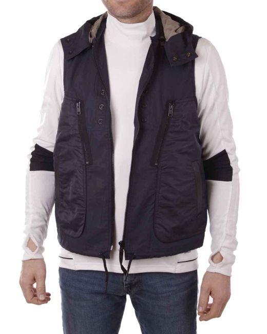 DIESEL J-Danger Jacket Weste in Blue für Herren