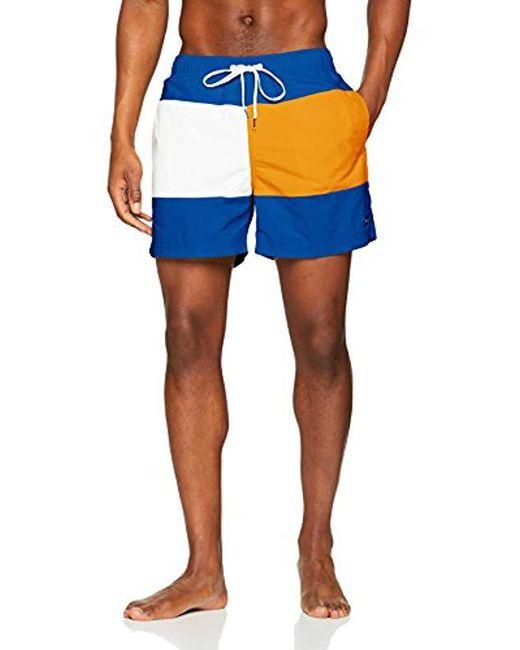Medium Drawstring Boxer Tommy Hilfiger pour homme en coloris Blue