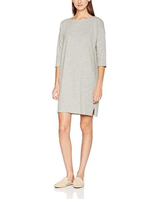 Great Plains - Gray Essentials Kitten Soft Tunic Dress - Lyst