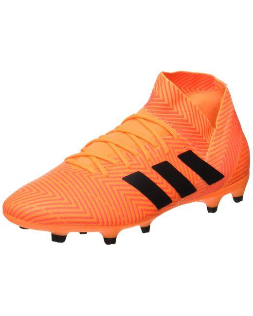 Nemeziz 18.1 FG Adidas pour homme en coloris Orange