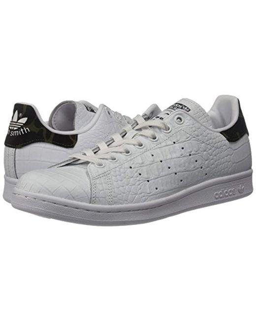 buy online 35d36 232b1 ... Adidas Originals - Black Stan Smith Vulc Running Shoe for Men - Lyst ...