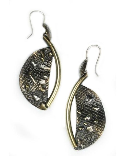 Sibilla G Jewelry | Metallic Sibilla G Atlantis Crescent Moon Fashion Earrings | Lyst