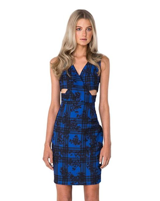 Finders Keepers - Blue Moonlight Dress - Lyst
