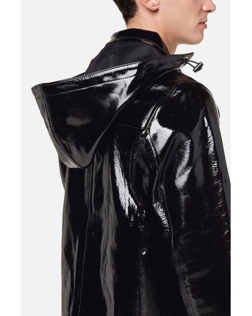Lyst Ami Bonded Vinyl Jacket In Black For Men