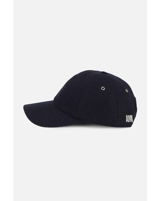 ... AMI - Blue Cap With Ami Patch for Men - Lyst ... ac39b820aaed