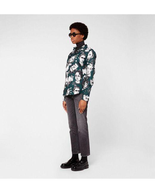 AMI Green Classic Shirt