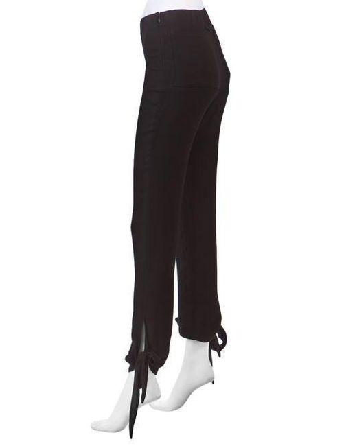 Jean Paul Gaultier | Black Knot Ankle Trouser | Lyst