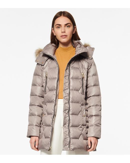 Andrew Marc Multicolor Pomona Quilted Down Parka