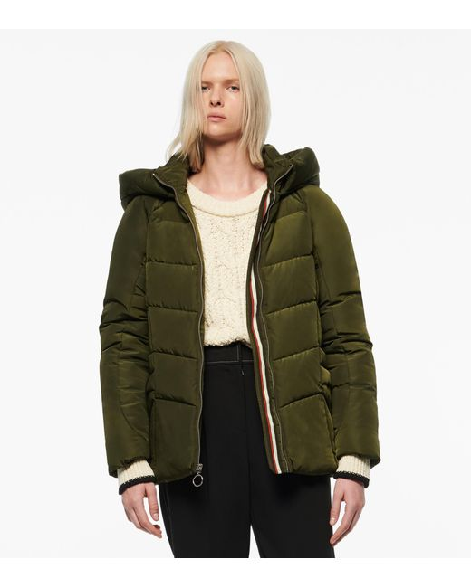 Andrew Marc Green Yorkshire Oversized Puffer