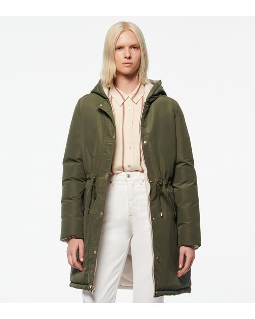 Andrew Marc Green Liberta Reversible Synthetic Down Parka