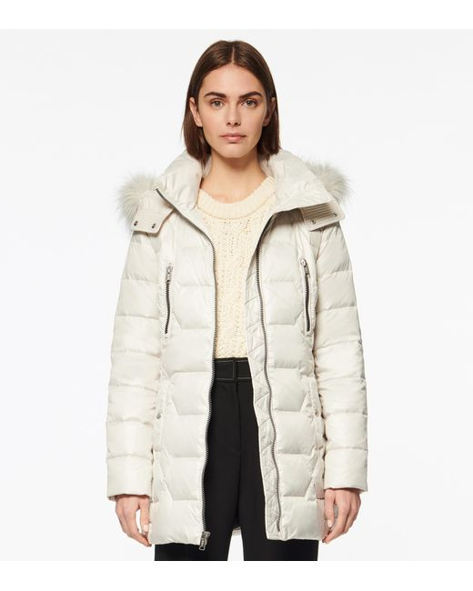 Andrew Marc Natural Pomona Quilted Down Parka